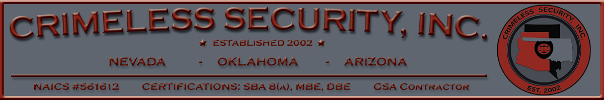 CRIMELESS SECURITY, INC.